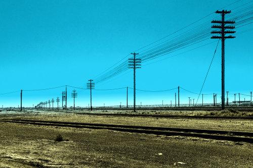 Telegraph Poles Idaho