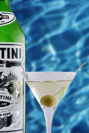 Martini by the Pool