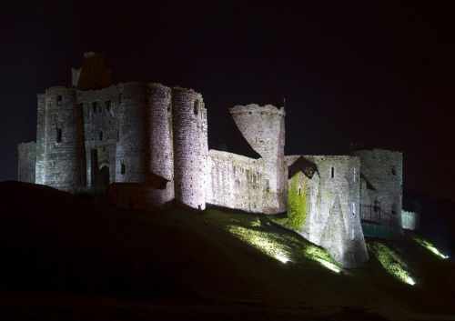 Midnight Kidwelly castle