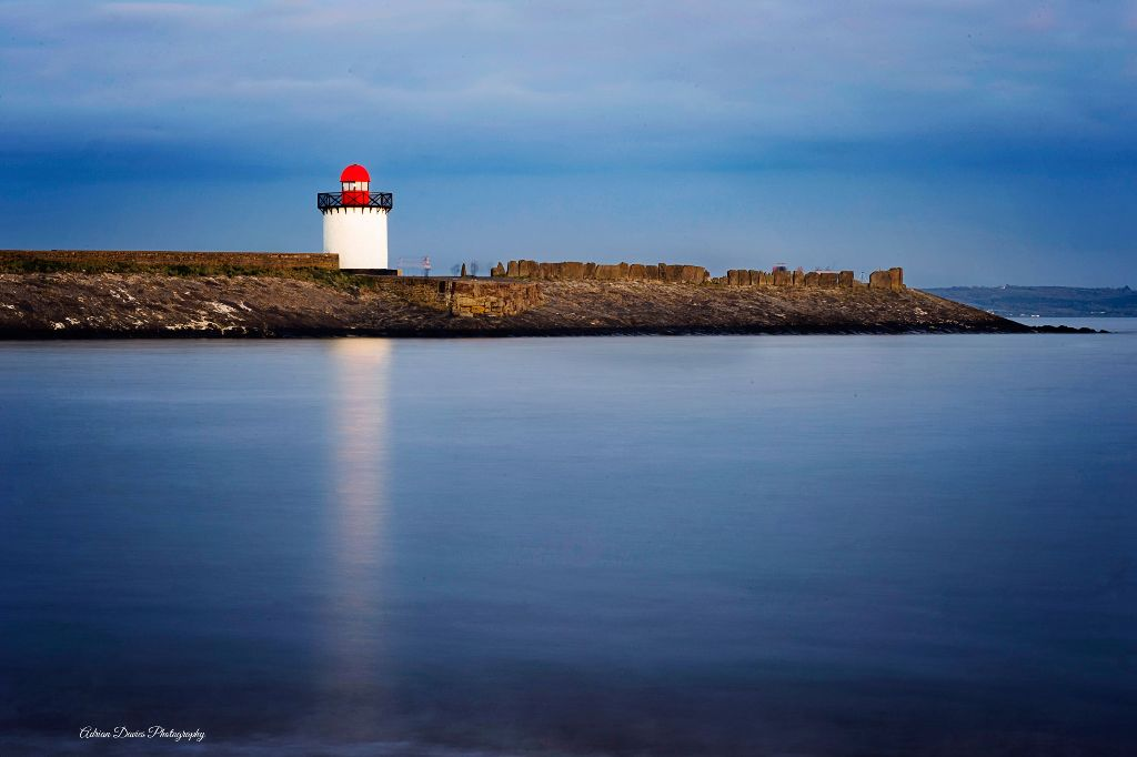 Burryport Lighthouse Blue