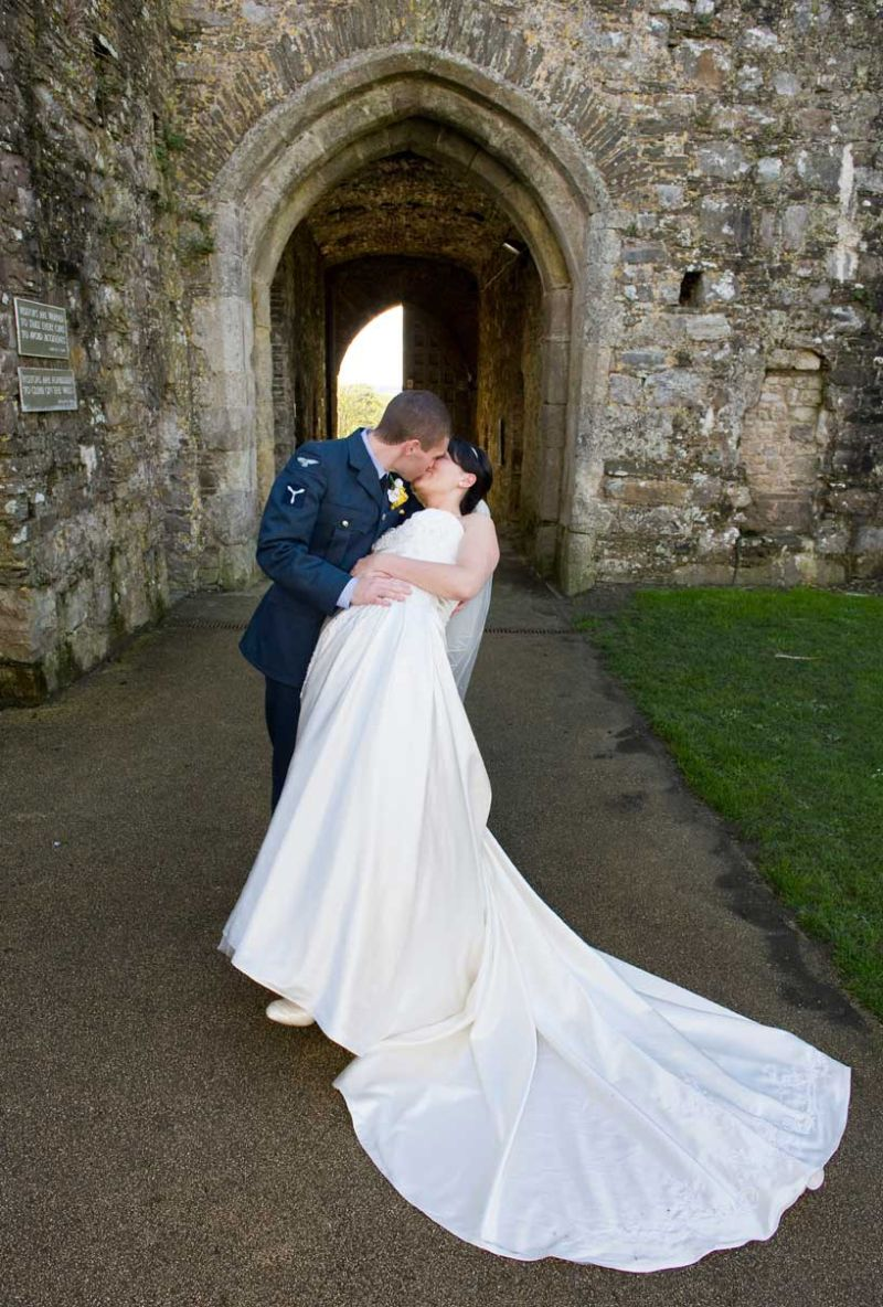 Wedding Photography at Kidwelly Castle, Kidwelly, Carmarthenshire
