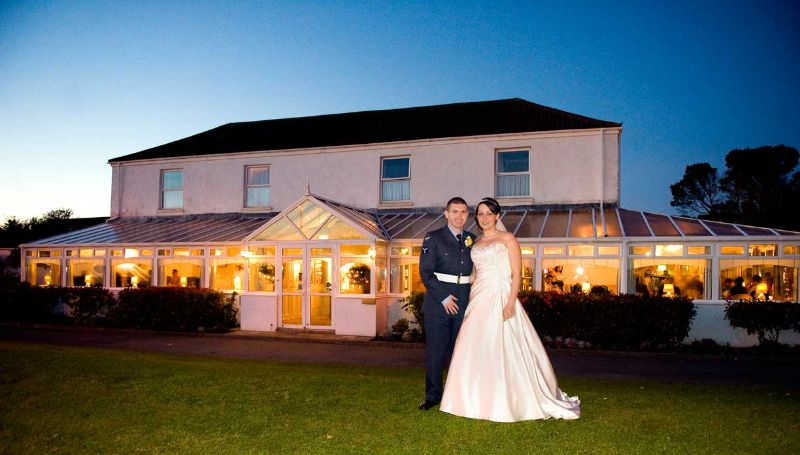Wedding Photography at Ashburnham Hotel, Pembrey , Carmarthenshire