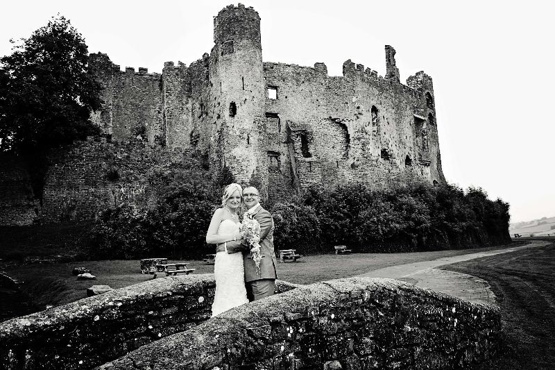 Wedding Photography at Laugharne Castle