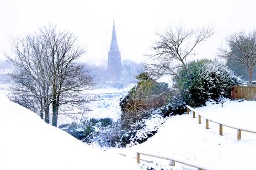 Kidwelly Snow