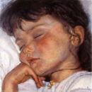 The Artist's Daughter Asleep