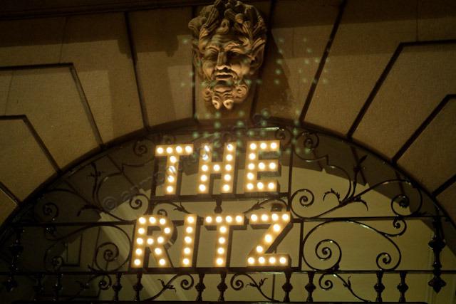 The Ritz!