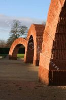 arches, andy goldsworthy, yorkshire sculpture park,<br>
