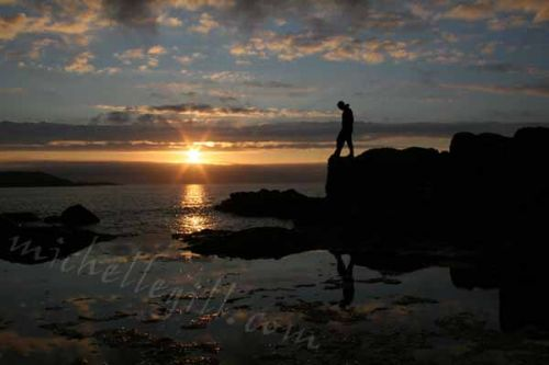 Thinking, Barra Sunset,<br> Cannon EOS 350d