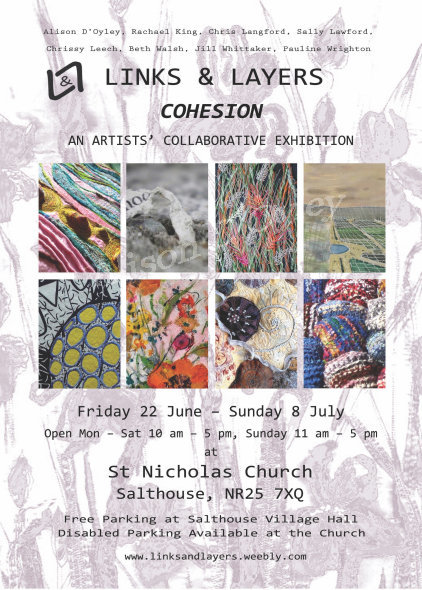 Links & Layers 'Cohesion' Exhibition