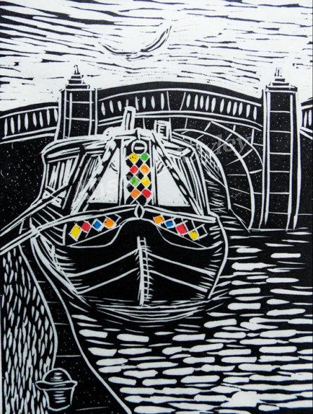 'Canalboat, Loughborough'