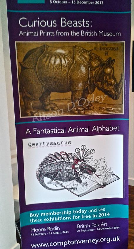 Qwertysaurus Poster