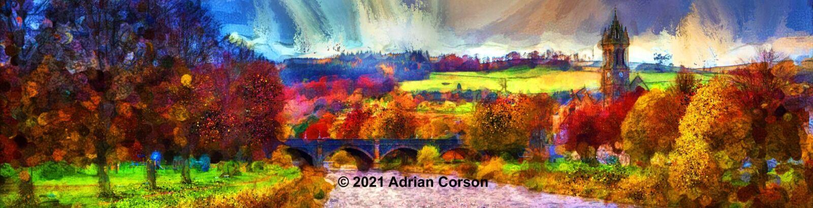 102-autumn town