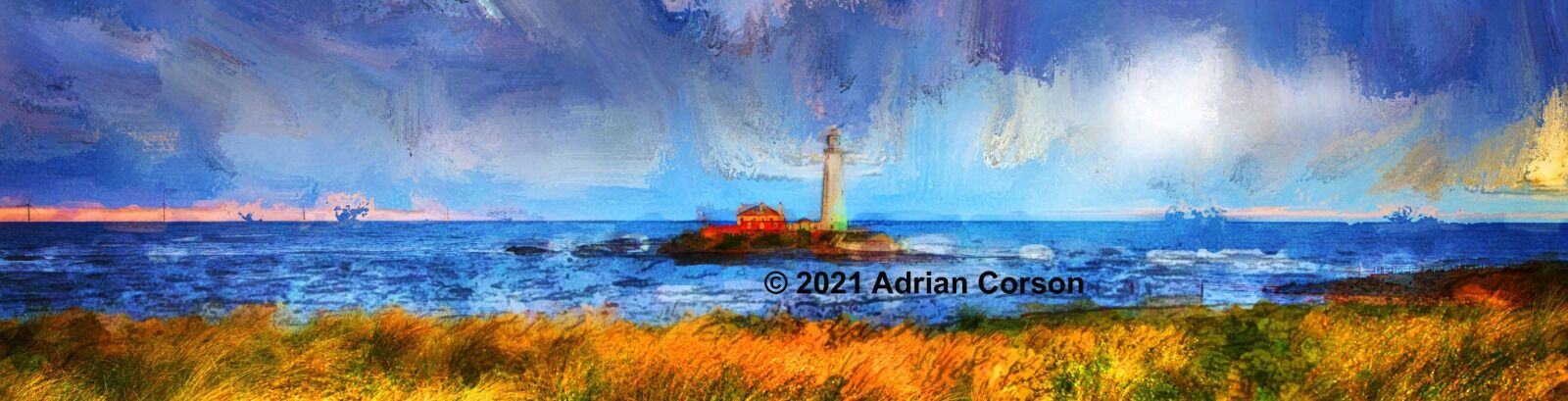 116-blue lighthouse