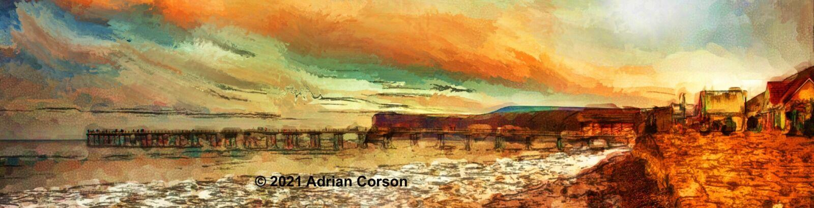 138-sunset pier