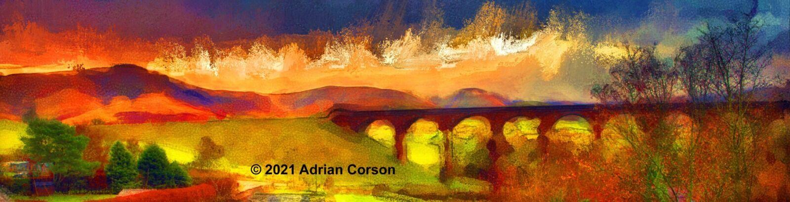 155-viaduct sunset