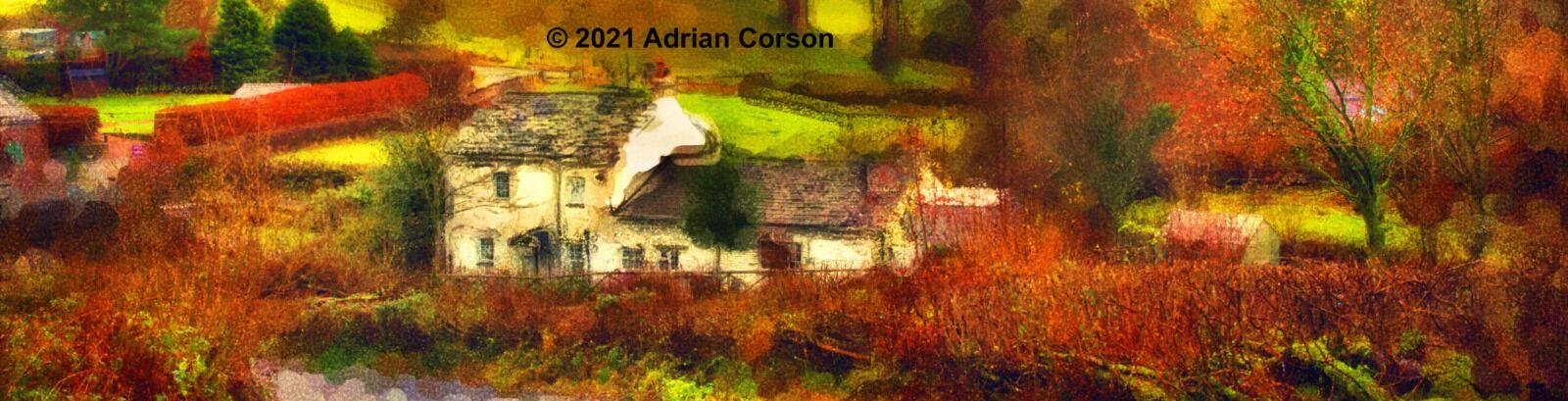 156-autumn farmhouse