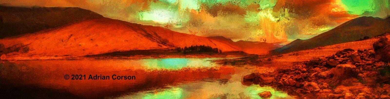 162-red mountain sunrise
