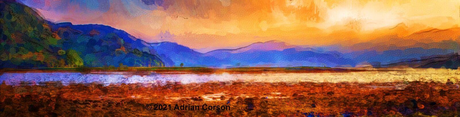 172-loch sunset