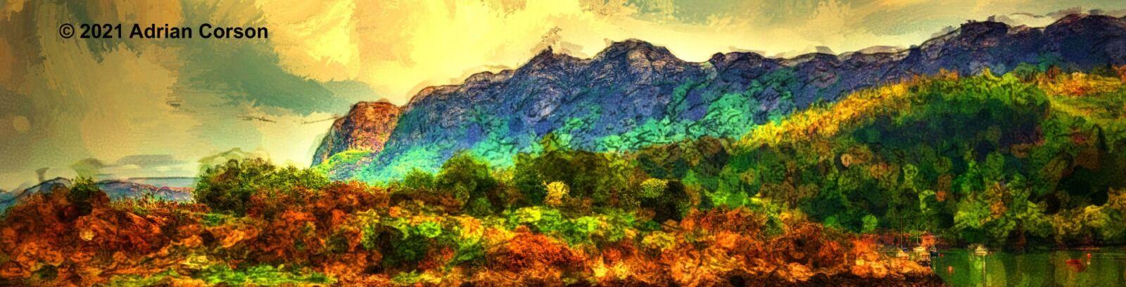 177-craggy hillside