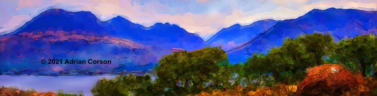 181-blue mountain skyline
