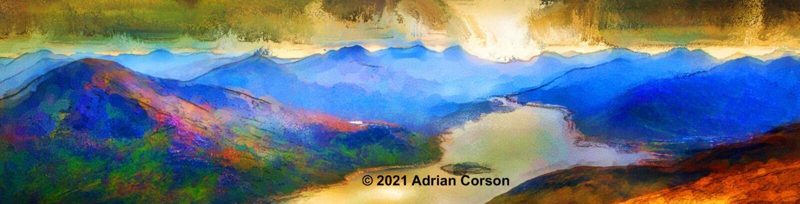 185-blue mountain loch