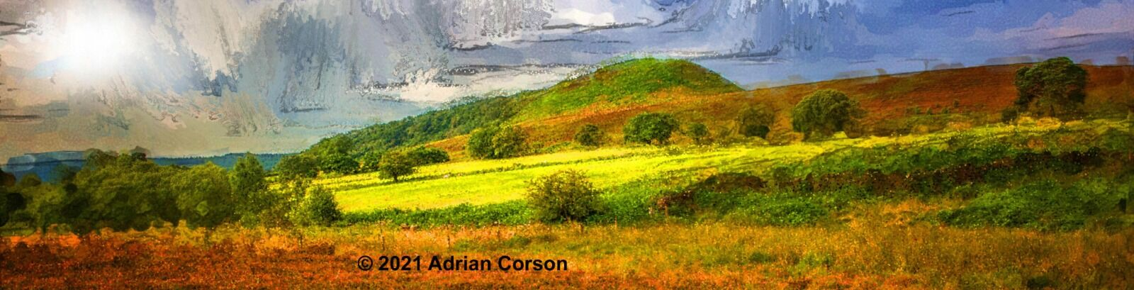 190-green hillside