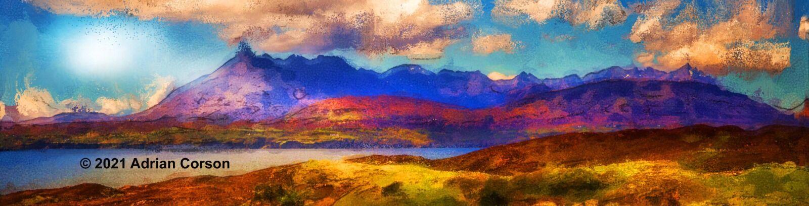 194-jagged mountain skyline