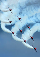 Red Arrows At Their Best