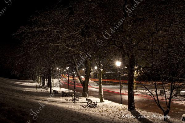 Night Time Snow
