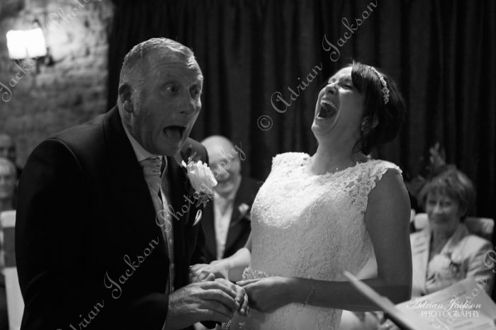 Wedding Vow Laughter