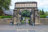 The Memorial Arch, Barlborough, Derbyshire
