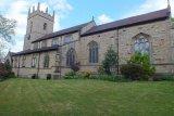 Front of Barlborough Church, Derbyshire