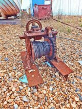 Beach winch, Deal, Kent