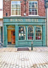 Burns Hotel, Market Street, York