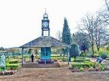 Clock Tower & Shelter, Hall Leys Park, Matlock
