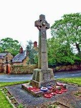 Eckington War Memorial, Derbyshire