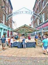 Entrance to Shambles Market, York