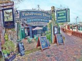 Fishermans Wharf, Sandwich, Kent