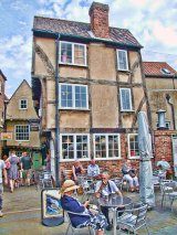 Little Shambles Tearooms, Little Stonegate, York