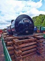 Locomotive 2150 awaiting restoration