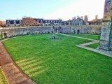 Looking south across the Fountain Garden, Bolsover Castle