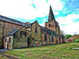 Northern facade of Eckington Church, Derbyshire