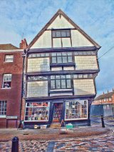 Sir John Boys House (Crooked House), Canterbury, Kent