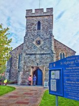 St Alphege Church, Whitstable, Kent