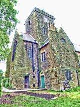 St Mark's Church Tower, Mosborough, Derbyshire