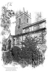 St. James the Greater - tower & church entrance, Barlborough, Derbyshire