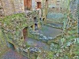 State Apartment ruins, Bolsover Castle