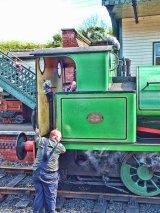 The Birkenhead engine room