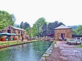 The Canal Basin, Cromford Canal, Derbyshire