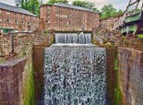 The Mill Race at Cromford Mill, Derbyshire